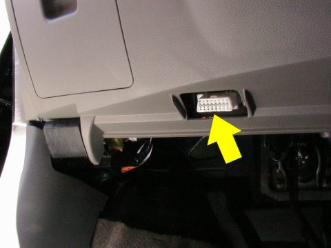 obd plug location
