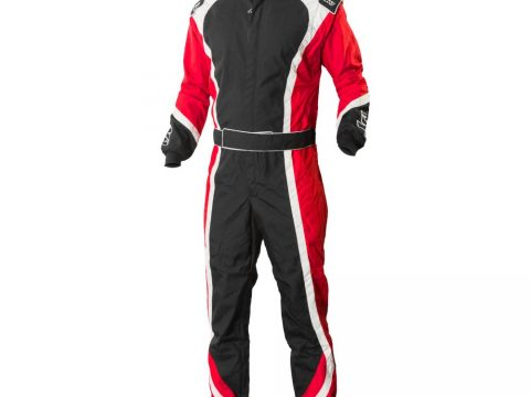 apex red kart suit