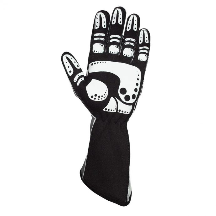 apex_black_left_palm k1 racegear kart glove