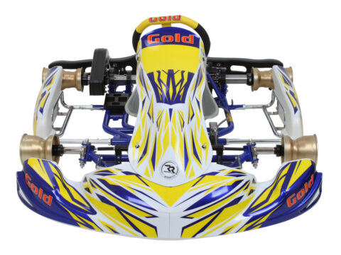 Goldkart kart racing chassis for ok and rotax